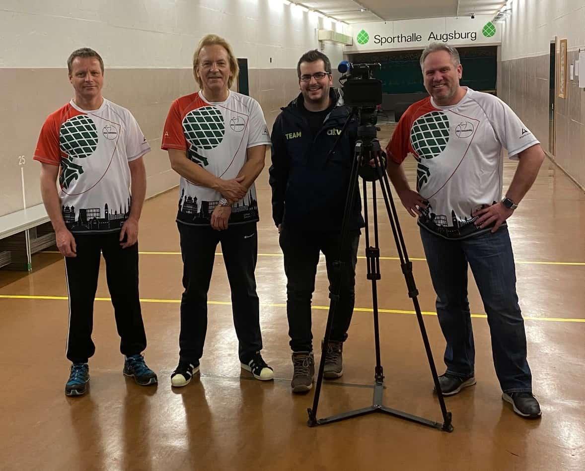 📢   Besuch von Augsburg TV !!!