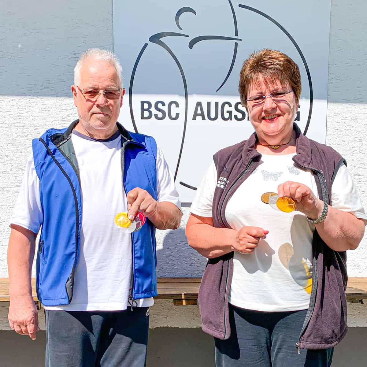 Wieder zwei BSC Sportabzeichen vergeben